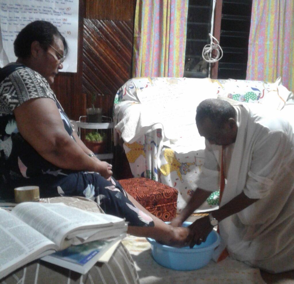 Adi footwashing